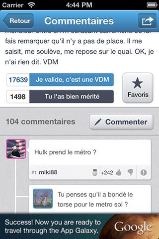 VDM pour iPhone et iPad