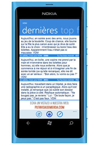 VDM pour Windows Phone 7